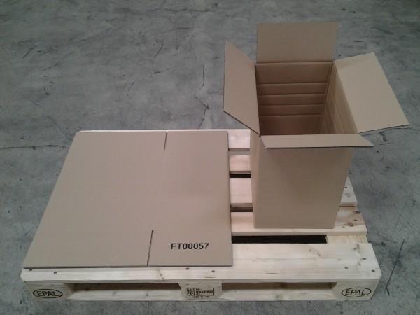 Faltkarton 420 x 280 x 420 mm W2