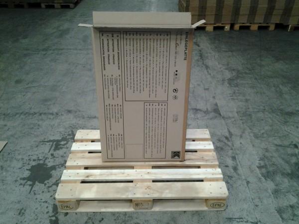 Faltkarton 645 x 70 x 1010 mm W2
