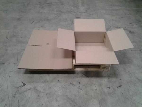Faltkarton 500 x 500 x 200 mm W2
