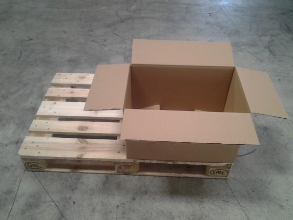 Faltkarton 580 x 380 x 350 mm W2