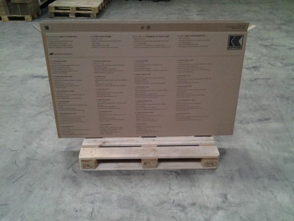 Faltkarton 1600 x 70 x 925 mm W2