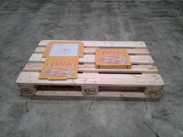 Faltkarton Pizzakarton 320 x 320 x 30 mm W1