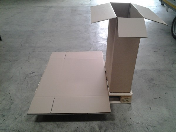 Faltkarton 635 x 245 x 890 mm W2