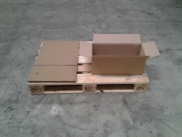Faltkarton 520 x 256 x 192 mm W2