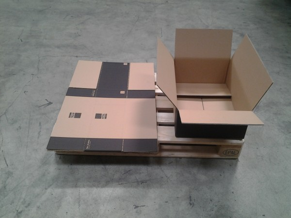 Faltkarton 610 x 505 x 205 mm W2