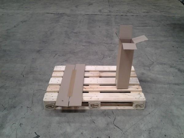 Faltkarton 140 x 140 x 600 mm W1