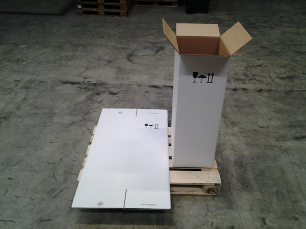 Faltkarton 395 x 350 x 1035 mm W2