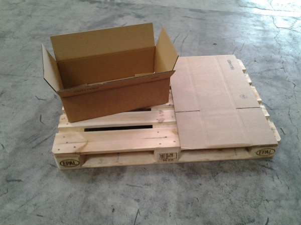 Faltkarton 580 x 270 x 190 mm W2
