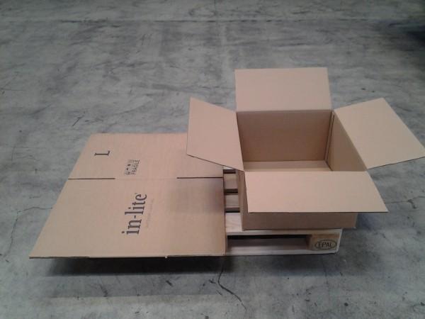 Faltkarton 550 x 500 x 300 mm W2