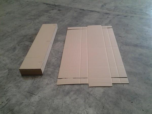 Faltkarton 1335 x 275 x 85 mm W2