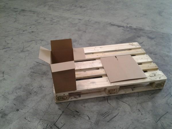 Faltkarton 203 x 203 x 352 mm W1