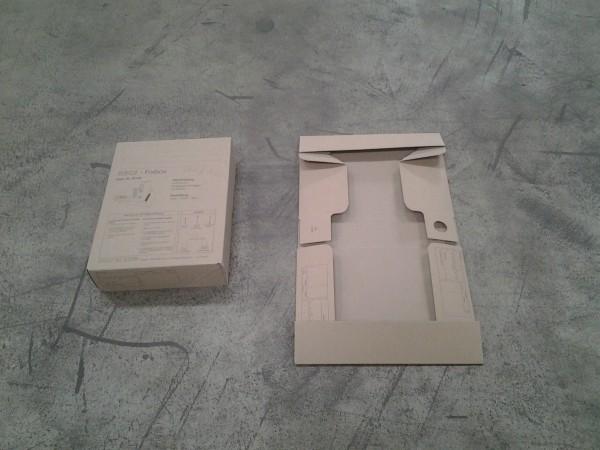 Faltkarton 320 x 240 x 73 mm P1