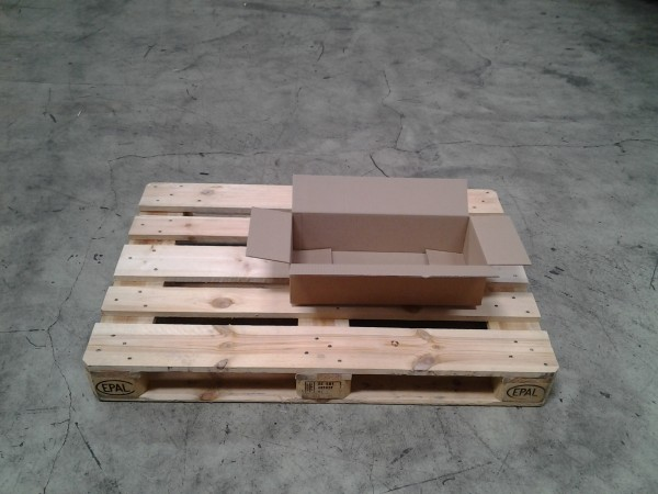 Faltkarton 520 x 233 x 128 mm W1