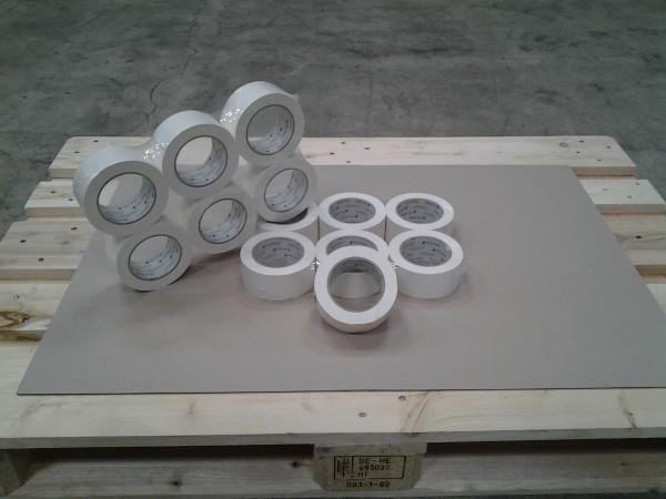 Papierklebeband weiss 50mm x 50 m Eco Tape