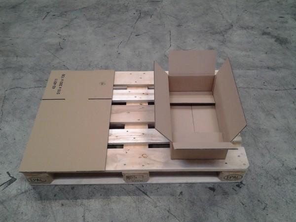 Faltkarton 510 x 283 x 130 mm W2