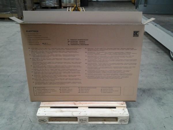 Faltkarton 1500 x 125 x 1055 mm W2