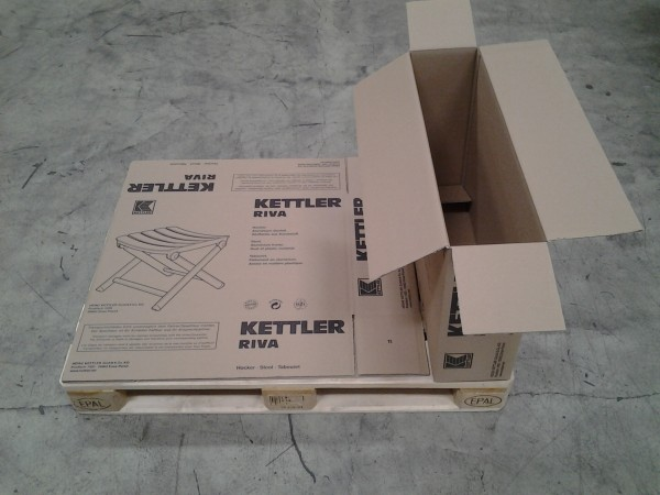 Faltkarton 765 x 190 x 500 mm W2