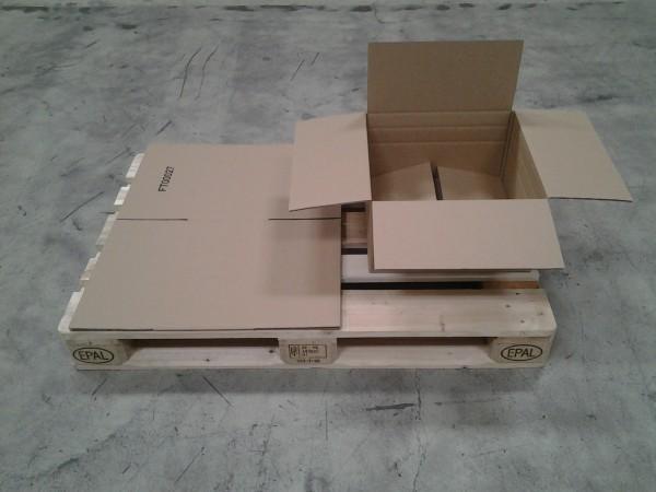Faltkarton 410 x 410 x 220 mm W2