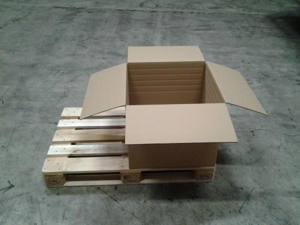Faltkarton 588 x 588 x 500 mm W2