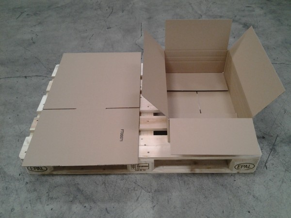 Faltkarton 580 x 380 x 160 mm W1