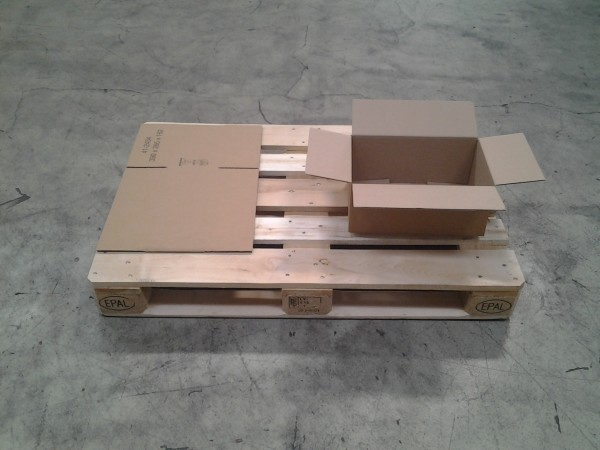 Faltkarton 390 x 265 x 162 mm W1