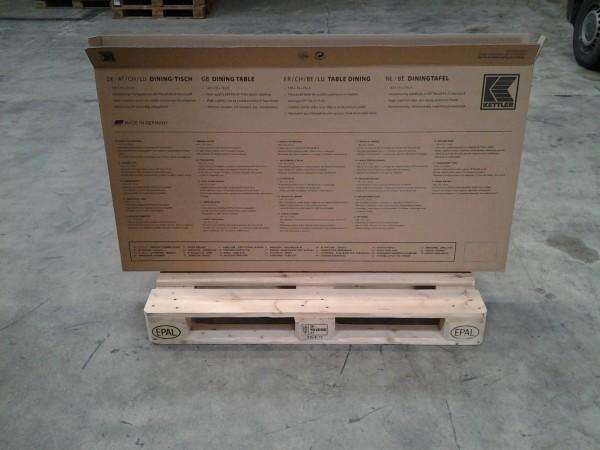 Faltkarton 1450 x 80 x 750 mm W2