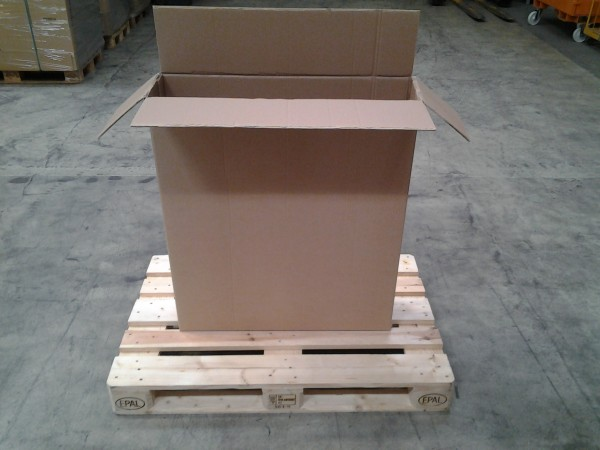 Faltkarton 800 x 200 x 920 mm W2
