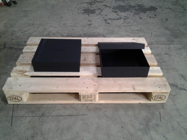 Faltkarton 350 x 350 x 100 mm Pappe