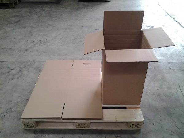 Faltkarton 392 x 392 x 650 mm W2