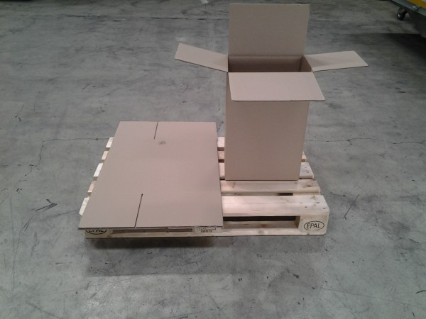 Faltkarton 390 x 250 x 580 mm W2