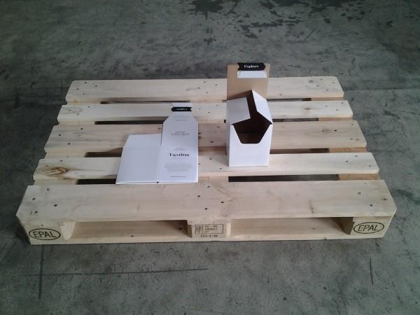 Faltkarton 140 x 140 x 180 mm W1