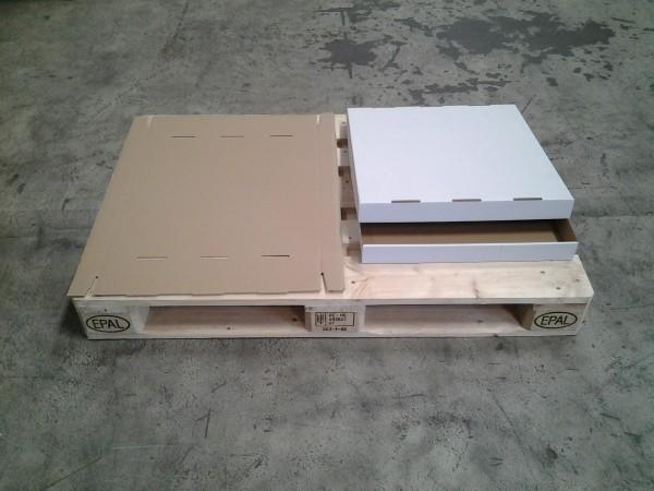 Faltkarton 520 x 515 x 56 mm W1
