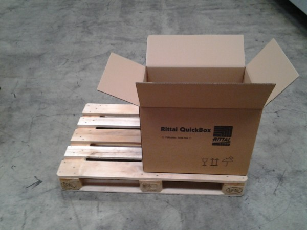 Faltkarton 640 x 455 x 495 mm W2