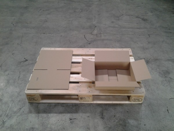 Faltkarton 390 x 290 x 110 mm W1