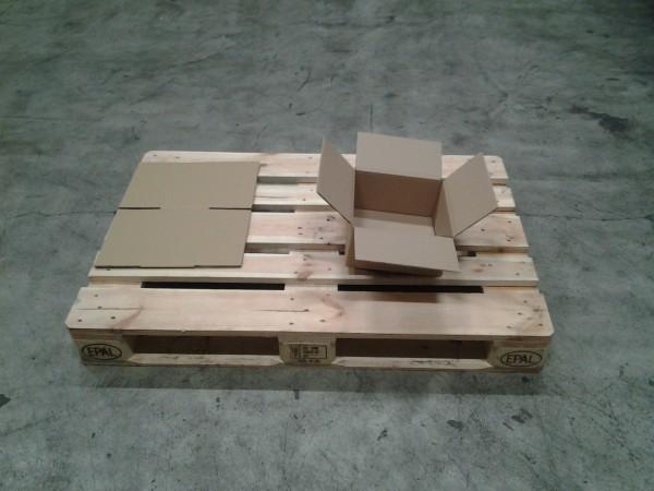 Faltkarton 250 x 250 x 130 mm W2