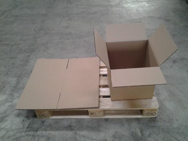 Faltkarton 400 x 400 x 400 mm W2