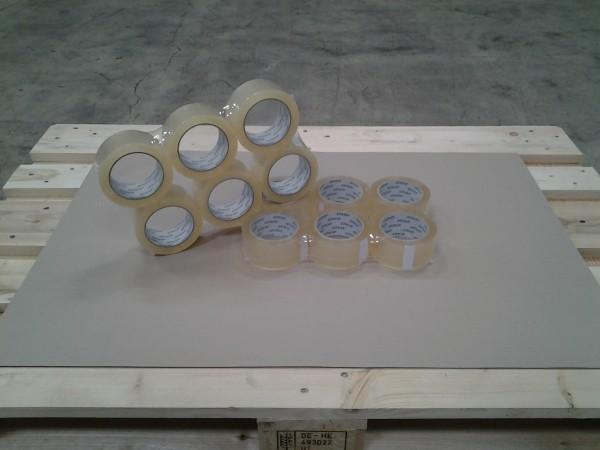 Klebeband 50 mm x 66 m PP trans leise