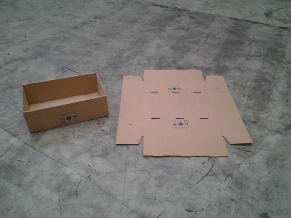 Faltkarton 582 x 370 x 195 mm W2