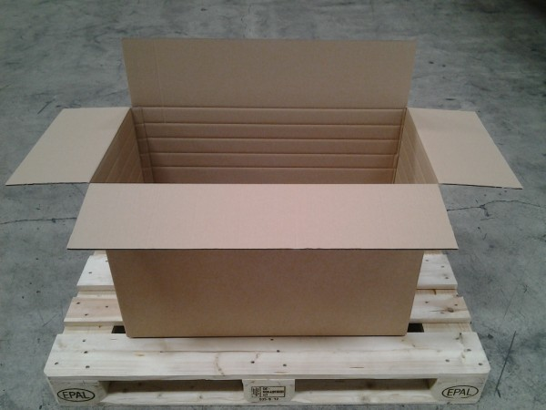 Faltkarton 786 x 386 x 500 mm W2