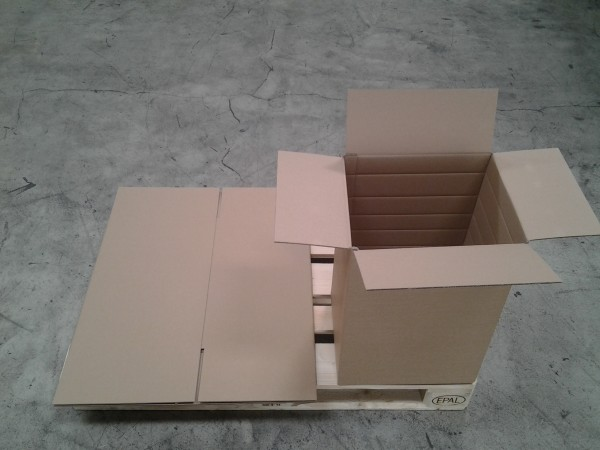Faltkarton 390 x 330 x 560 mm W2