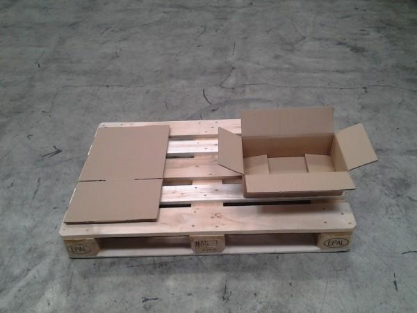 Faltkarton 417 x 385 x 117 mm W2
