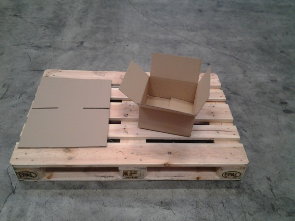 Faltkarton 290 x 290 x 140 mm W1