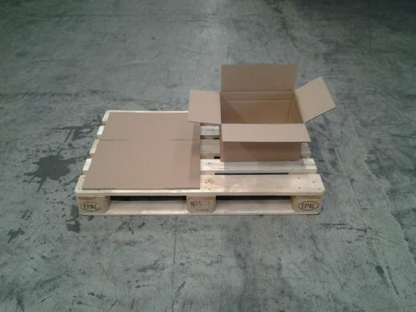 Faltkarton 406 x 314 x 220 mm W2
