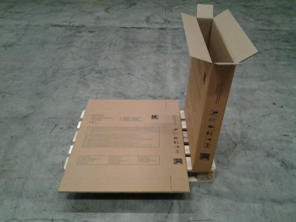 Faltkarton 810 x 130 x 900 mm W2