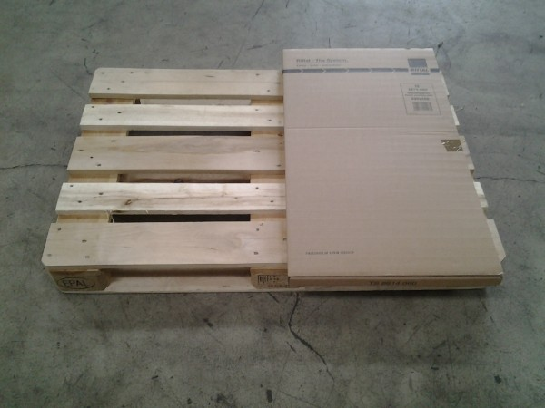 Faltkarton 905 x 505 x 30 mm W2