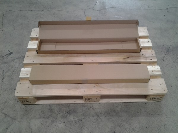 Faltkarton 920 x 140 x 45 mm W2