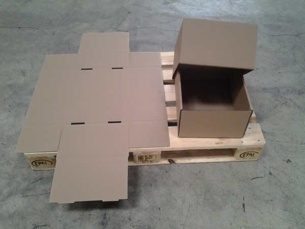 Faltkarton 430 x 305 x 200 mm W1