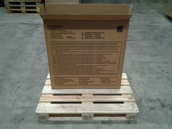 Faltkarton 935 x 135 x 935 mm W2