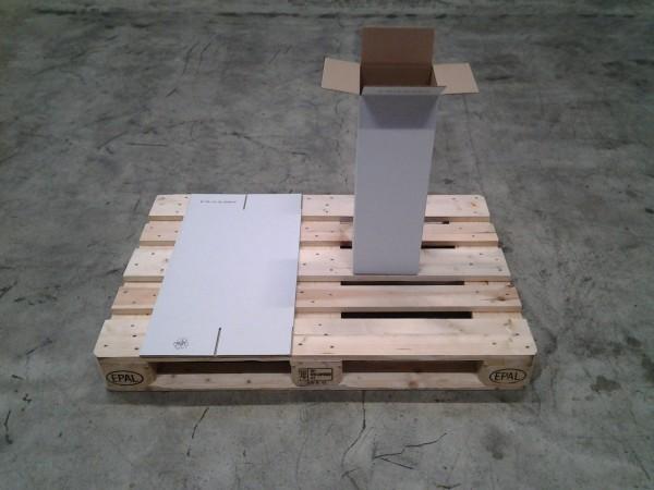 Faltkarton 205 x 200 x 590 mm W1