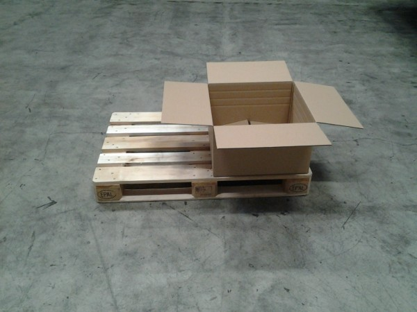Faltkarton 520 x 520 x 300 mm W2